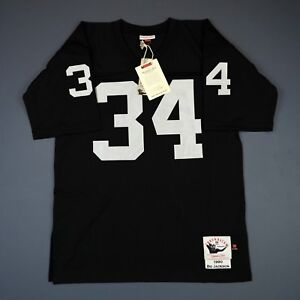 100% Authentic Bo Jackson 1990 Raiders Mitchell Ness NFL Jersey Size S 36 Mens