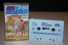 BIBI BLOCKSBERG - 44 Der Reiterhof Teil 2 - MC Kassette KIOSK Hörspiel ROT/GELB