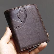 Wallets For Mens Credit Cards Wallet Leather Zipper Pocket Purse-MJ3752