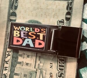 FATHERS DAY money clip