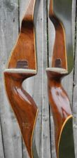 FRED BEAR KODIAK MAGNUM RECURVE BOW RIGHT HAND 50# GRAYLING 1968