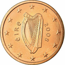 [#723876] IRELAND REPUBLIC, 5 Euro Cent, 2008, SUP, Copper Plated Steel, KM:34