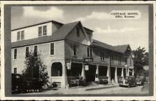 Ellis KS Cottage Hotel Postcard