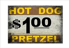 American Retro Style New York Hot Dog Sign New York Sign Cafe Sign Restaurant