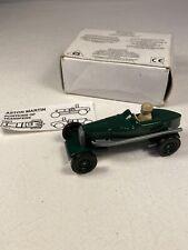 Lledo Green & Silver 1922 Aston Martin Racing Car Diecast Mint Condition