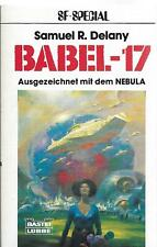 Samuel R Delany / Babel-17 Science Fiction-Roman Signed 1st Edition 1982