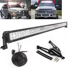 """For 2010-2018 Dodge Truck Ram 1500/2500/3500 50"""" 288W LED Light Bar Roof Bracket"""