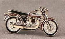 Metal Enamel Pin Badge Brooch Triumph Bonneville Motorbike Biker Rider