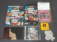 [NEW OPEN BOX] Grand Theft Auto: Vice City (Windows PC, 2003) + STRATEGY GUIDE