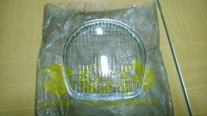 Suzuki K125 T20 T200 TC200 TC250 TS50 Glass Headlamp Lens STANLEY NOS Japan