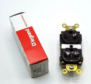 Pass & Seymour 5862-A Duplex Receptacle Brown 20A 250V (3 Available)