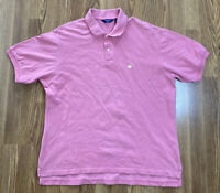 VTG Men's Brooks Brothers Sport 100% Cotton Button-Up Pink Golf Polo Size Large
