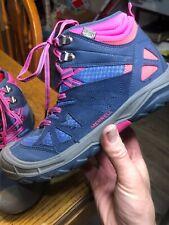 Merrell Capra Mid Leather Waterproof Hiking Boot Purple/Pink Women's US 5 EU 36