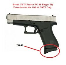 Pearce Grip - PG-48 fits GLOCK 43X & 48 - PG48 Finger Tip Magazine Extension NEW