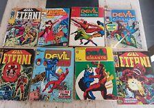 lotto fumetti vintage ed.corno gli eterni devil gigante
