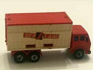 Lesney Mercedes Container Truck Sealand No 42 Vintage Matchbox Toy 1976 Matchbox