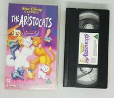 The Aristocats (VHS,video tape pal) Disney film