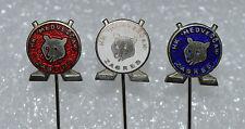 Medvescak Zagreb Croatia KHL Ice Hockey vintage enamel pin badge set