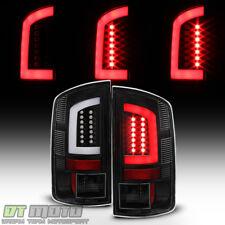 Black 2002-2006 Dodge Ram 1500 03-06 Ram 2500 3500 [LED Tube] Tail Lights Lamps