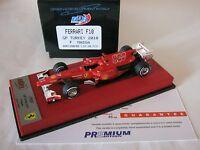 F1 BBR 1/43 FERRARI F10 GP TURQUIE 2010 800 GP BBRC45BPRE FELIPE MASSA