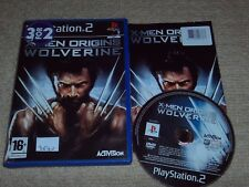 X-MEN ORIGINS : WOLVERINE - Rare Sony PS2 Game