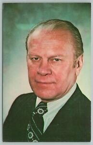 Grand Rapids Michigan~Gerald R Ford~38th President Photo~Vintage Postcard