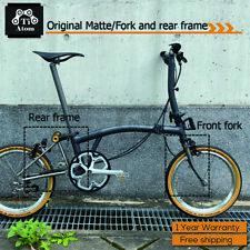Ti Atom/Titanium Brompton parts Front fork and Rear frame(Original matte)