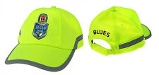 2017 State of Origin NSW New South Wales Blues High Vis Work Safety Hat/Cap