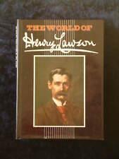 Walter Stone (editor) - The World of Henry Lawson HC/DJ bio short stories poems+