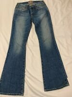 vintage abercrombie and fitch Jeans Women's Faded & Frayed Hem Size 2 NWT