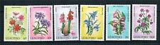 Lesotho 1985 Wild Flowers SG661/6 MNH