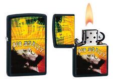 ZIPPO MUSIC-BOB MARLEY 28257 Accendino Collezionismo Lighter Idea Regalo Reggae