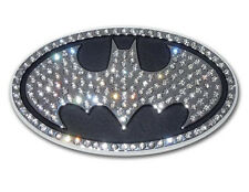 Batman Premium Crystal Metal Auto Emblem [NEW] Car Decal Bat Man Dark Knight MVP