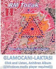 CD R. M. TOCAK TONSKO UKRASAVANJE ALBUM 2013 serbia croatia rm tocak rock musik