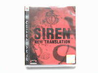 PS3 SIREN NEW TRANSLATION - NTSC Import Version Plays In English