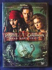 Pirates of the Caribbean Dead Mans Chest (DVD, 2006, Widescreen, Disney) - F0901