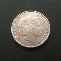 2016 AUSTRALIAN 20 CENT COIN