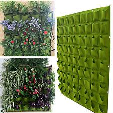 72 Pocket Wall Balcony Herbs Indoor Vertical Garden Hanging Outdoor Planter Bag