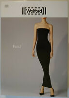 Wolford Lidia Dress schwarz Gr XS//S//M//L NEU 350 € Luxus Jersey Kleid Karo OVP