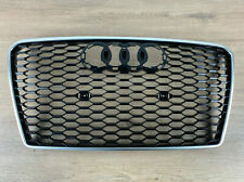 original AUDI RS7 Kühlergrill Frontgrill Aluminium Matt 4G8853651E 1L1 NEU