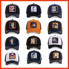 Majin VEGETA Hat Gorras de Dragon Ball Caps Goku Hats Unisex Baseball Cap Mesh