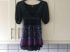 Ladies Pretty monsoon size 10  floaty  top approx length 27 inches