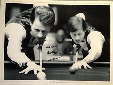 World Snooker Champion Alex Hurricane Higgins signed photo UACC DEALER