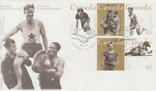 CANADA #1608-1612 45¢ CANADIAN OLYMPIC GOLD MEDALLISTS FIRST DAY COVER