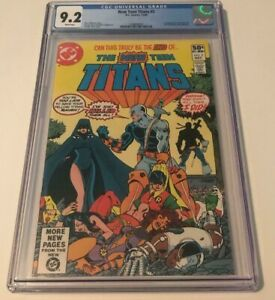 DC Comics NEW TEEN TITANS #2 CGC 9.2 WP FIRST APPEARANCE OF DEATHSTROKE