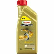 Castrol Power 1 2T 2 Stroke Semi Synthetic Engine Oil - 1L