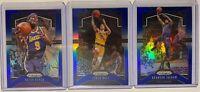 2019-20 Panini Prizm BLUE LOT /199! Brandon Ingram, Lonzo, Rondo Lakers Pelicans