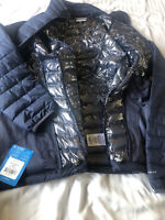 NEW! Columbia Women's NWT $150 Powder Lite Jacket in Nocturnal Blue, Size S
