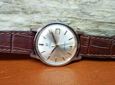 1968 OMEGA Seamaster cadran argent Date CAL:565 automatique homme watch