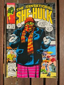 SENSATIONAL SHE-HULK #44 (1989) - Back Issue